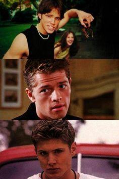 Young sexy boys. Jared Padalecki Misha Collins Jensen Ackles. #Jared_Padalecki #Misha_Collins #Jensen_Ackles