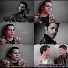 *wipes tear from eye* this is beautiful *sniffles*<---- I'm not that deep into the teen wolf fandom. Teen Wolf Ships, Teen Wolf Mtv, Teen Wolf Funny, Teen Wolf Memes, Teen Wolf Boys, Teen Tv, Teen Wolf Dylan, Supernatural Crossover, Supernatural Funny