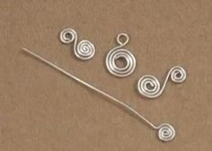 Perfecting the Wire Spiral (Item ID: 101960, End Time : N/A) - DIY Lessons - Learn Jewelry Making With Online Lessons, Videos and PDF Tutorials