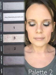 Younique Addiction Palette 2 ~ Great palette for daytime AND nightime looks! www.BeautybyJennaG.com #younique #palette2