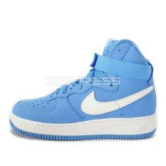 pretty nice e5320 13956 Nike-Air-Force-1-Hi-Retro-QS-743546-400-NSW-Casual-University-Blue-White