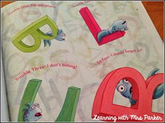 Learning With Mrs. Parker: The Pout Pout Fish Goes To School