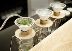 World's First Hand-Drip Green Tea Shop Opens in Tokyo