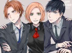 Akira's boys