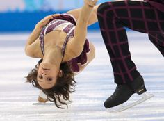 Meagan Duhamel and Eric Radford of Canada compete in the pairs free skate figure skating competition at the Iceberg Skating Palace during the 2014 Winter Olympics, Wednesday, Feb. in Sochi, Russia. Ice Skating, Figure Skating, Meagan Duhamel, Jumping For Joy, Winter Olympics, Masters, Palace, Skate