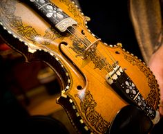 Michelle Bailey's Norwegian Hardanger fiddle.  Click on the pic and add Michelle on Facebook!