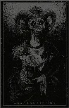 death art Black and White satan satanic baphomet occult occultism Dark Art Illustrations, Dark Art Drawings, Illustration Art, Arte Horror, Horror Art, Death Art, Satanic Art, Psy Art, Arte Obscura