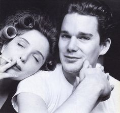 Julie Delpy and Ethan Hawke