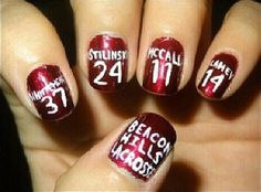 Discovered by Find images and videos about nails, teen wolf and dylan o'brien on We Heart It - the app to get lost in what you love. Teen Nail Designs, Cute Nail Designs, Teen Wolf Lacrosse, Hair And Nails, My Nails, Wolf Makeup, Teen Nails, Art Ideas For Teens, Teen Wolf Stiles