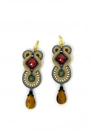 soutache red,yellow, blue