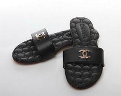 Online Sale Chanel Slipper CH0906 Black