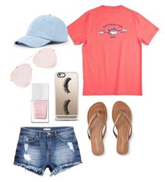 """""""Prep life"""" by ameliacrane on Polyvore featuring H&M, Casetify, Aéropostale, Sole Society and The Hand & Foot Spa"""