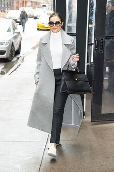 5 Celebrity-Approved Ways to Wear Sneakers to Work via @WhoWhatWear