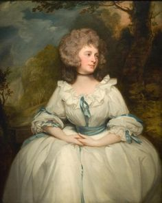Portrait de Lady Lemon, par George Romney