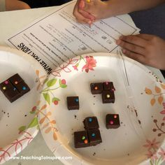 Comparing Fractions Activity with Brownies - Teaching with Jennifer Findley Learning Fractions, Comparing Fractions, Math Fractions, Dividing Fractions, Equivalent Fractions, Fraction Activities, Math Resources, Math Tutor, Math Education