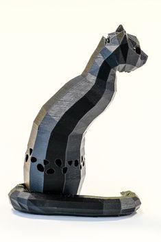3D print, Cat cashpot