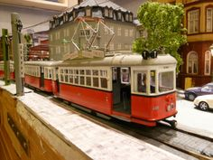 3D Printed scale model of the Wien T1 tram by Guido Mandorf. Printed in prime grey and colored by hand. Get the real Vienna experience! http://i.materialise.com/shop/item/chassis-wien-t1? #wien #vienna #austia #tram #train #models #scalemodels #scalemodelling #track #primegrey #railway #railroad #modelrailway #modelrailroad