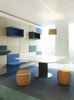 NUON nieuwAmsterdam interieur kantoor Heyligers 21 NUONs Amsterdam Headquarters / HEYLIGERS d+p