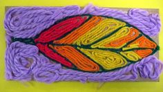 Huichol Yarn Painting from Mexico by Tyler
