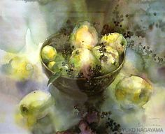 Yuko Nagayama WATERCOLOR