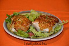Cuori di  nasello in crosta di patate ricetta salata I Piccoli pasticci di Pam