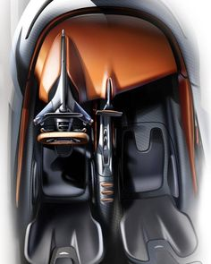 Aston Martin AM-RB 003 official interior sketch by Ondrej Jirec via Miles Nurnbe. Aston Martin AM- Car Interior Sketch, Car Interior Design, Interior Design Sketches, Car Design Sketch, Interior Rendering, Interior Concept, Automotive Design, Car Sketch, Futuristic Interior