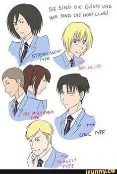 Excuse you Levi is the Badass type