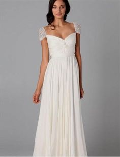 Nice casual simple wedding dresses 2018-2019 Check more at http://myclothestrend.com/dresses-review/casual-simple-wedding-dresses-2018-2019/