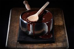 Cómo hacer salsa de chocolate