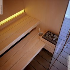 Sistema sauna e hammam Logica - Effe Steam Sauna, Steam Bath, Steam Room, Laundry Room Bathroom, Bathroom Layout, Basement Bathroom, Home Spa Room, Spa Rooms, Spa Design