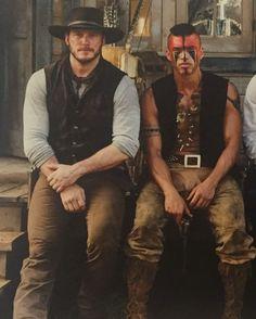 Martin Sensmeier & Chris Pratt