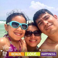 Fun for the whole family. #BarefootMemories #HamptonPensacolaBeach #UpsideofFlorida #PensacolaBeach