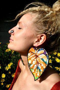 African Earrings by Tua-Lisa