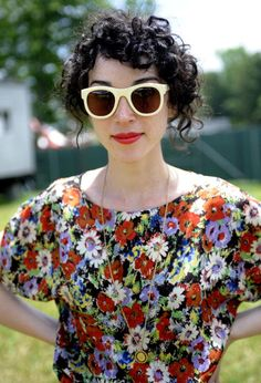 st vincent/ annie clark.  let's be real. All I want for wedding hair in Annie Clark.