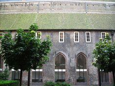 Chiostro dell'antica Chiesa dei domenicani (oggi sconsacrata), dove è sepolto il Beato Alano della Rupe