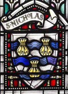 Heraldry for St Nicholas