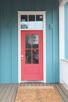 Get the Look: Colorful Interior & Exterior Doors