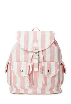 Cool Girl Striped Backpack | FOREVER 21 - 1000089739 #f21crush