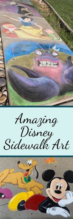 Check out this amazing Disney art painted on the sidewalk (and house!) belonging to one Utah man! Disney Magic, Disney Art, Uplifting Messages, Aristocats, Sidewalk Chalk, Day Work, Photo Quotes, Disney Cruise, Utah