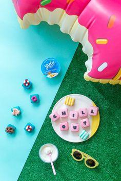 Pool Party Petit Fours | Studio DIY®