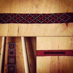 Gamle kunster blir nye  #beadloom #beads #diy #bracelet #diybracelet