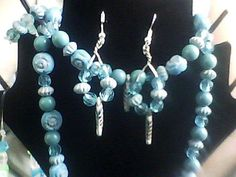Jewelry Necklace Earrings Bracelet & Ring by NAESBARGINBASEMENT, $24.00