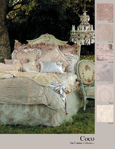 Love that tulle bed skirt....I want this....ALL of it!
