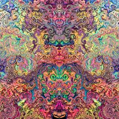 Shamanic art psychedelic art looking into the unseen world of the mind and soul trippy trip art Psychedelic Drawings, Spirited Art, Cool Art Drawings, Visionary Art, Fractal Art, Trippy, Mystic, Jay, Mandala