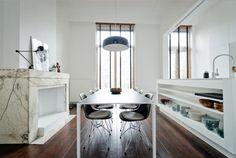Spectacular apartment in Antwerp #dining