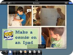 Encouraging boys to write - Comic Strips - Mum In The Madhouse Create A Comic, Android Technology, How To Make Comics, Comic Strips, Ipad, Parenting, Activities, Writing, Education