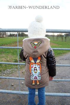 7Farben-Wunderland: Carlita kommt!!! Bunt, Canada Goose Jackets, Winter Jackets, Fashion, Wonderland, Winter Coats, Moda, Winter Vest Outfits, Fashion Styles