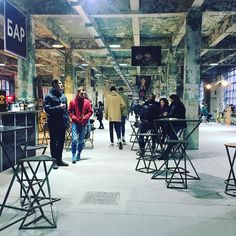 Kurazh bazaar is a monthly event in #Kiev #Ukraine that aims to revive the old flea market. I love the old factory building and its peeling paint
