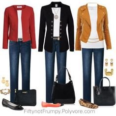 business mode damen Fifty, not Frumpy: Wear It Wednesday - Accessories Fashion Mode, 50 Fashion, Look Fashion, Fashion Outfits, Fashion Trends, Jeans Fashion, Fall Fashion, Fifties Fashion, Mature Fashion