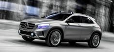 Mercedes-Benz unveils its new GLA: the new Mercedes compact crossover concept will premiere at theShanghai Auto Show this week. Shanghai, Audi Q3, Mercedes Concept, Mercedes Gla, Vw Tiguan, Drive In Theater, Porsche Cars, Automobile Industry, Cars Motorcycles